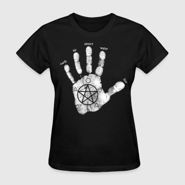Circle Of Fifths hand of creation - Women's T-Shirt