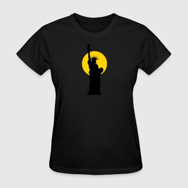 Monument liberty - Women's T-Shirt