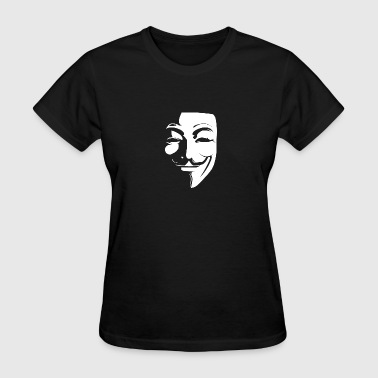 Anonymous Guy Fawkes Mask - Women's T-Shirt