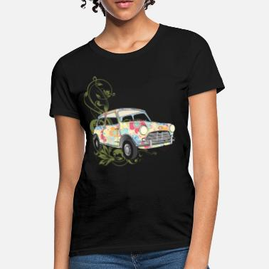 Colorful Car Graphic Design On A car colorful - Women's T-Shirt