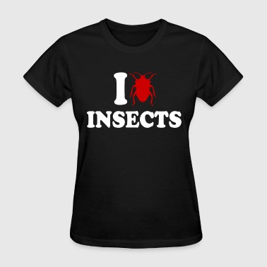 I Love Insects - Women's T-Shirt