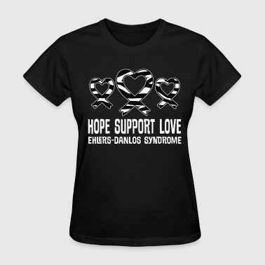 Eds Ehlers Danlos Syndrome Awareness EDS Ribbon - Women's T-Shirt