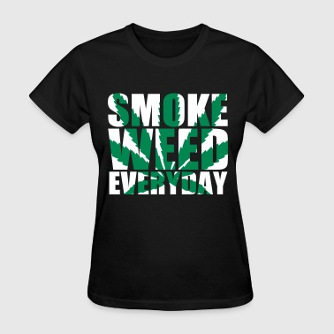 SmokeWeedEveryDay  Impact - Women's T-Shirt