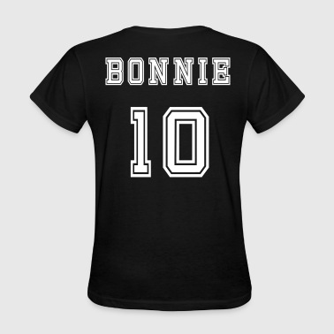 Valentine's Day Matching Couples Bonnie Number - Women's T-Shirt
