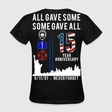 11 Never Forget 9/11 Womens Shirt - Women's T-Shirt