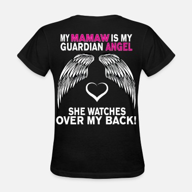 Guardian MY MAMAW IS MY GUARDIAN ANGEL - Women's T-Shirt