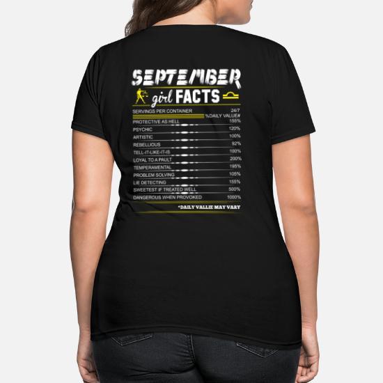 September Girl Facts Libra Women's T-Shirt | Spreadshirt