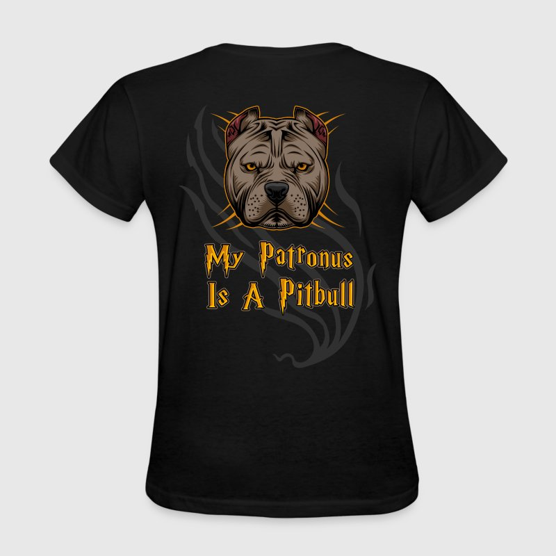 Pit Bull - My Patronus Is A Pitbull - Women's T-Shirt