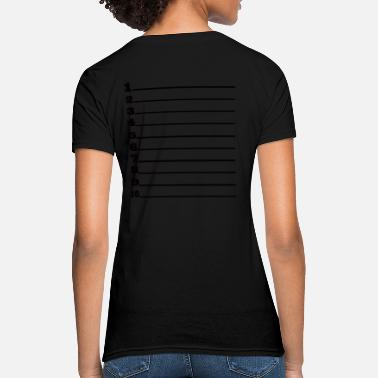 Hair Measure Length Check Loose Fit T - Women's T-Shirt