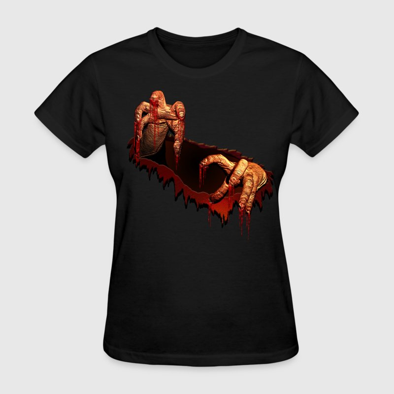 Zombie Shirts Gory Halloween Scary Zombie Gifts  - Women's T-Shirt
