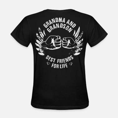 Father Son Best Friends For Life Grandma and Grandson - Women's T-Shirt