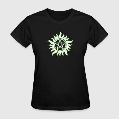 Pentagram - Supernatural - Demons - Sam - Dean - Women's T-Shirt