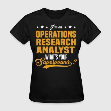 Operations Research Analyst - Women's T-Shirt