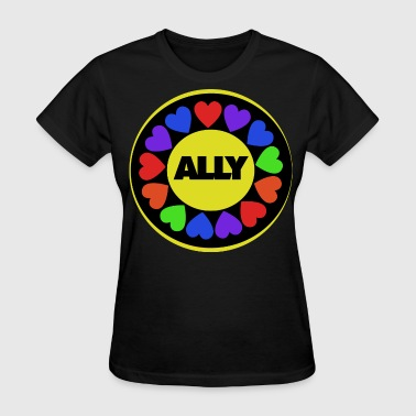Ally Gay Rights - Women's T-Shirt