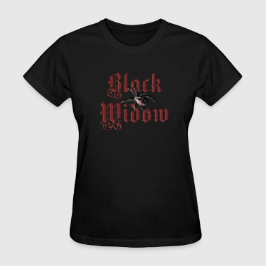 black_widow - Women's T-Shirt