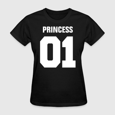 Princess 01 Family Daughter Mother Couple Girl - Women's T-Shirt