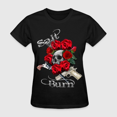 Salt N Burn Guns  - Women's T-Shirt