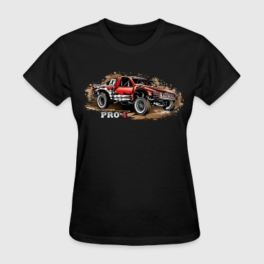 Pro4 Race Truck Red - Women's T-Shirt