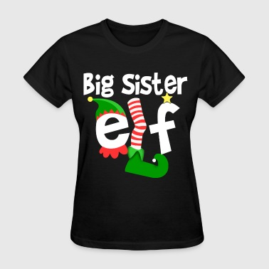 Big Sister Elf - Women's T-Shirt
