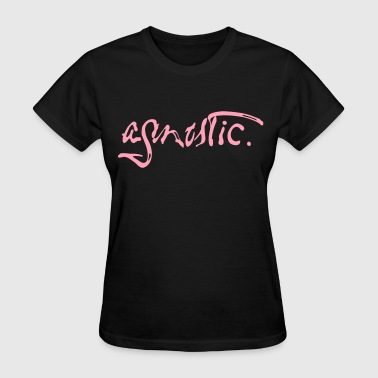 Agnostic Paint Script by Tai's Tees - Women's T-Shirt