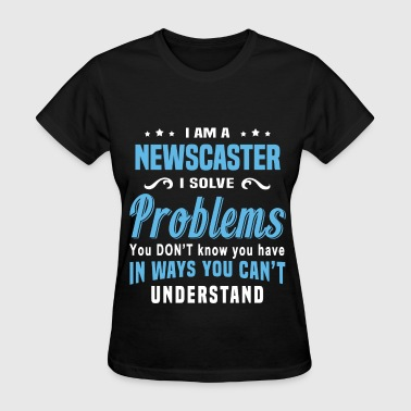 Newscaster - Women's T-Shirt