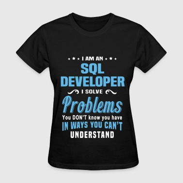 SQL Developer - Women's T-Shirt