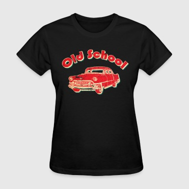 Old School Car Retro  - Women's T-Shirt