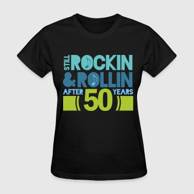 50th Anniversary rock and roll - Women's T-Shirt