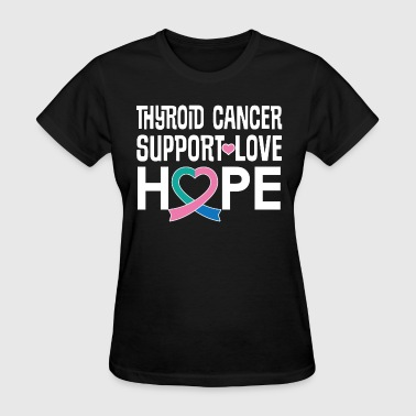 Thyroid Cancer Awareness Ribbon - Women's T-Shirt