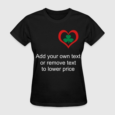 irishheart - Women's T-Shirt