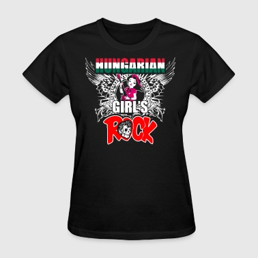 Hungarian Girls Rock - Women's T-Shirt