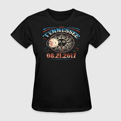 Vintage Tennessee Total Solar Eclipse 2017 T Shirt - Women's T-Shirt
