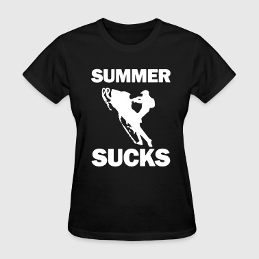 Summer Sucks Shirt - Women's T-Shirt