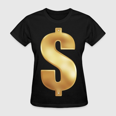 Gold Money Bling - Women's T-Shirt