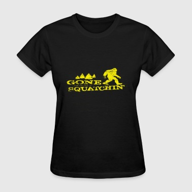 Gone Squatchin' - Women's T-Shirt