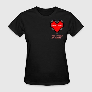 Zelda Life Heart - Women's T-Shirt