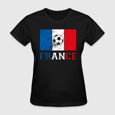 French Soccer - Women's T-Shirt