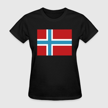 Norwegian Flag - Women's T-Shirt