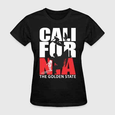California Surfing The Golden State - Women's T-Shirt