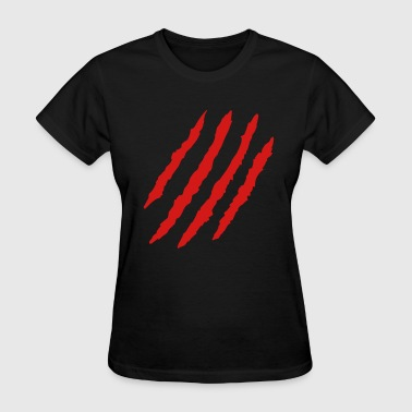 Claw Marks - Women's T-Shirt