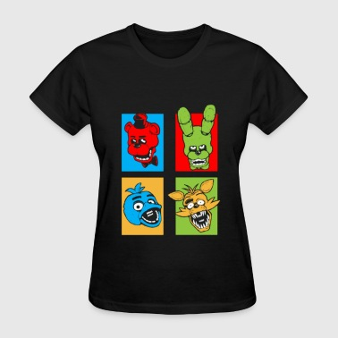 Five Night pop art - Women's T-Shirt