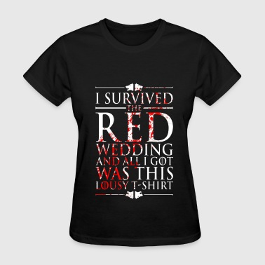 i survived - Women's T-Shirt