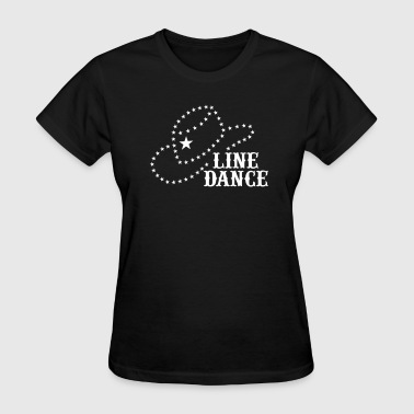 LINE DANCE STAR HAT - Women's T-Shirt