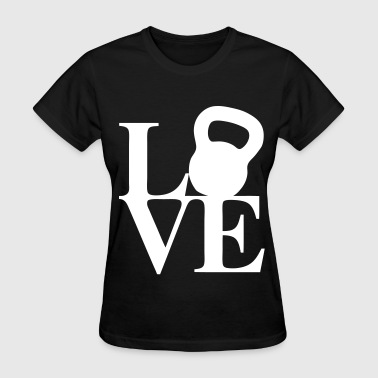 Love Kettlebell - Women's T-Shirt