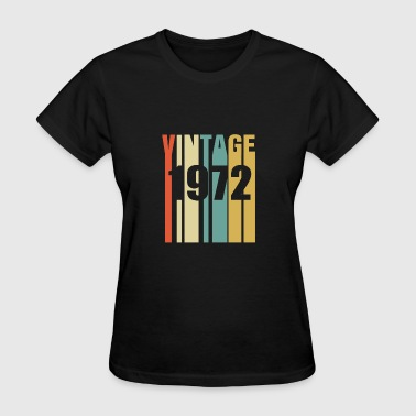Vintage 1972 Retro - Women's T-Shirt