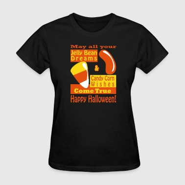 Candy Corn Wishes - Women's T-Shirt