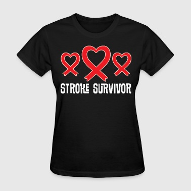 Stroke Survivor Awareness Ribbon - Women's T-Shirt