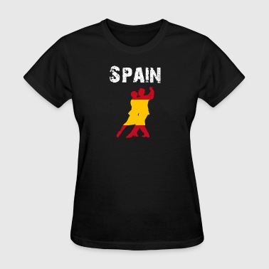Nation-Design Spain Flamenco - Women's T-Shirt
