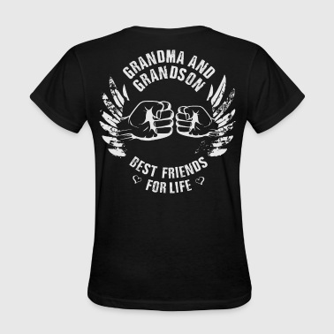 Grandma and Grandson - Women's T-Shirt