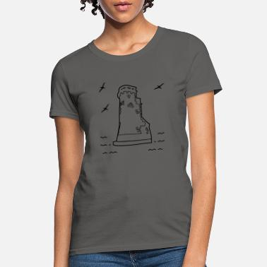 Brittany Lighthouse - Women's T-Shirt